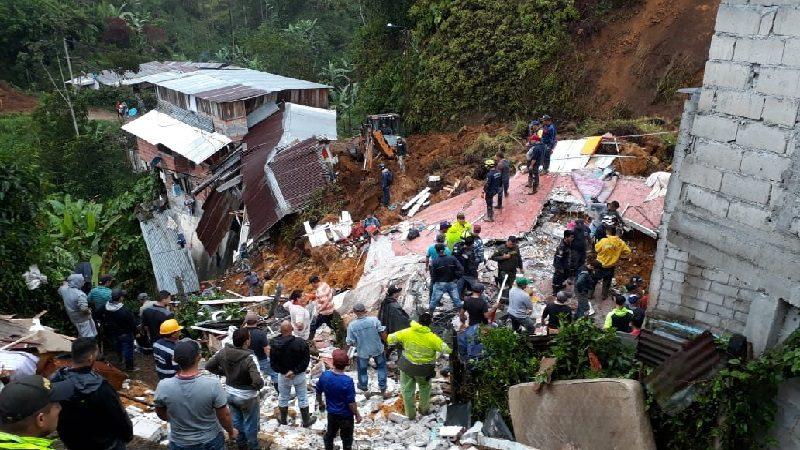 Gobierno anuncia viviendas gratis para damnificados de Marquetalia, Caldas