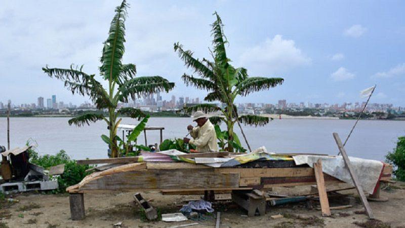 Hallan cuerpo desmembrado de una mujer en la isla 1972, en el río Magdalena