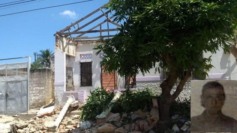 Hombre fallece tras desplomarse el techo de su vivienda en Buena Esperanza
