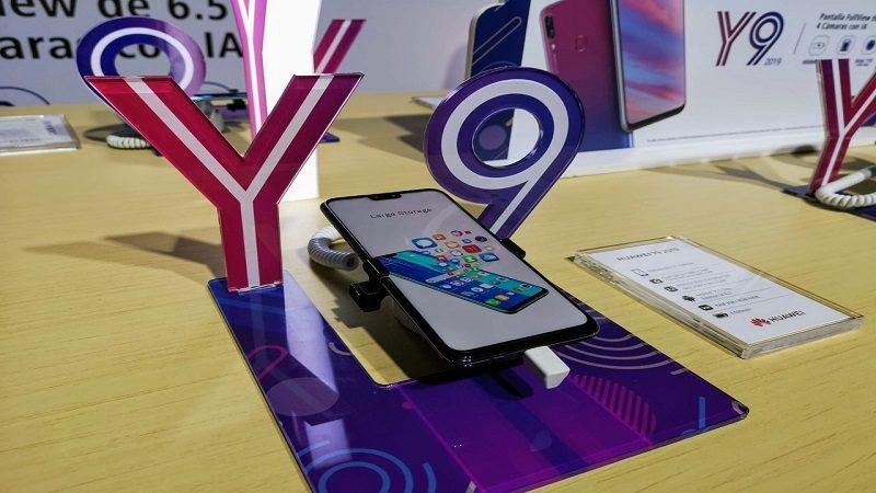 Huawei lanzó en Colombia el Y9 2019