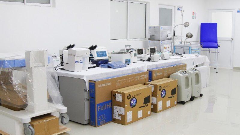 Inauguran consulta externa en Sabanagrande y puesto de salud en La Peña