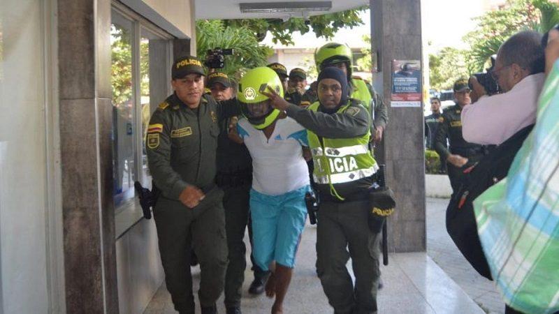 Intentan linchar a asesino de la niña de Fundación cuando llegó a la cárcel