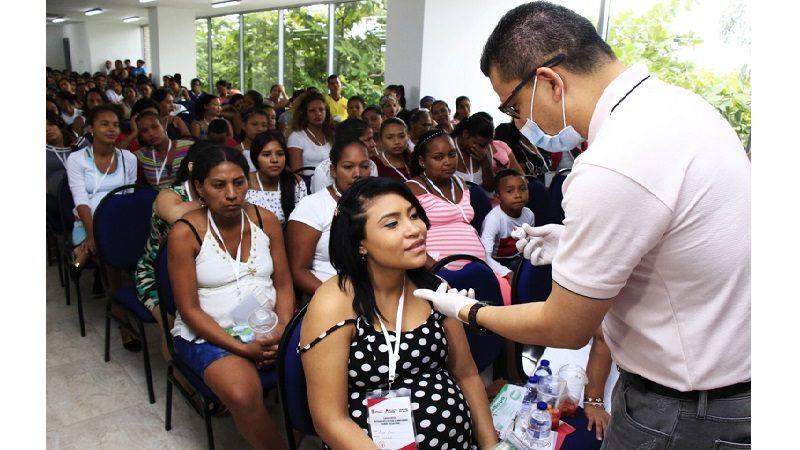 Jornada de protección en salud para 600 mujeres embarazadas en Atlántico