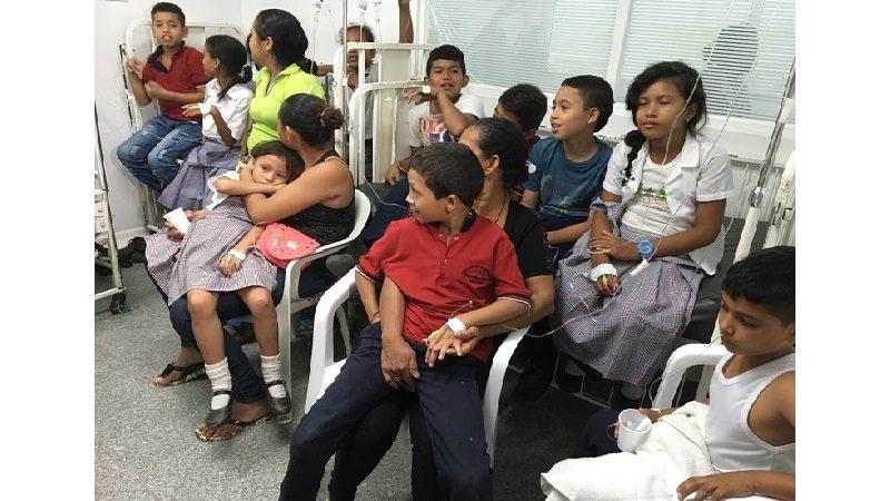 Más de 50 niños de colegio en Sabanalarga se intoxicaron cuando consumían alimentos del PAE