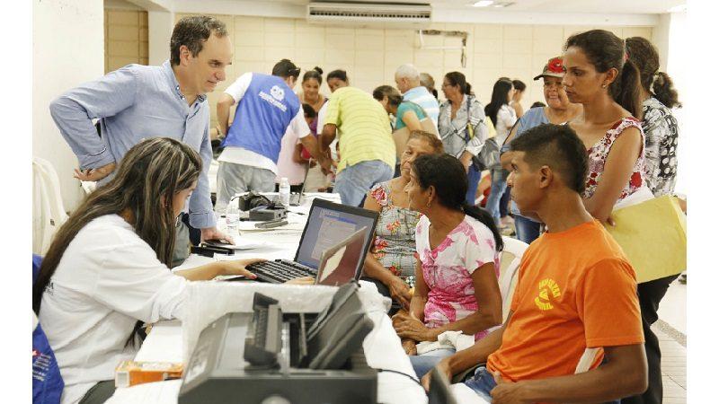 Más de 500 migrantes venezolanos y colombianos retornados han sido documentados en jornadas de registro