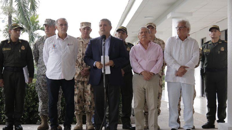 Mano dura contra el microtráfico en Colombia, anuncia el presidente Duque