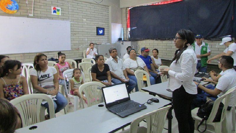 Migrantes venezolanos reciben atención en primera jornada de Sisbén y afiliación en salud