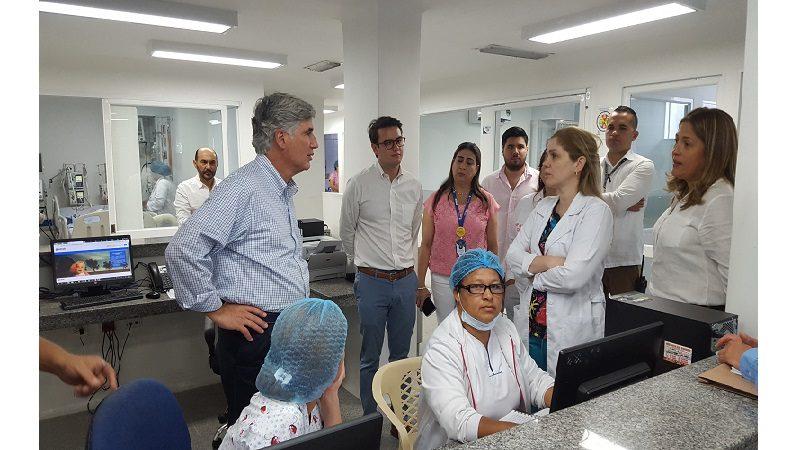 Ministro de Salud, Juan Pablo Uribe, elogió infraestructura y tecnología en red hospitalaria de Barranquilla