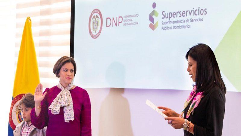 Natasha Avendaño García, nueva Superintendente de Servicios Públicos Domiciliarios