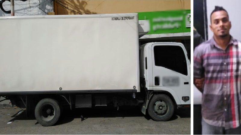 Roban camión en Sabanilla y lo encuentran en el barrio Las Nieves
