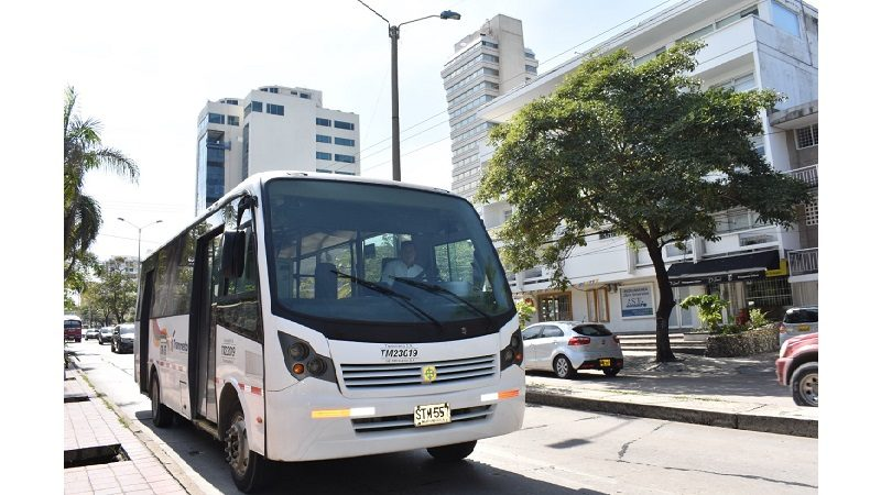 Ruta de Transmetro toma la calle 72 para llegar al Gran Malecón