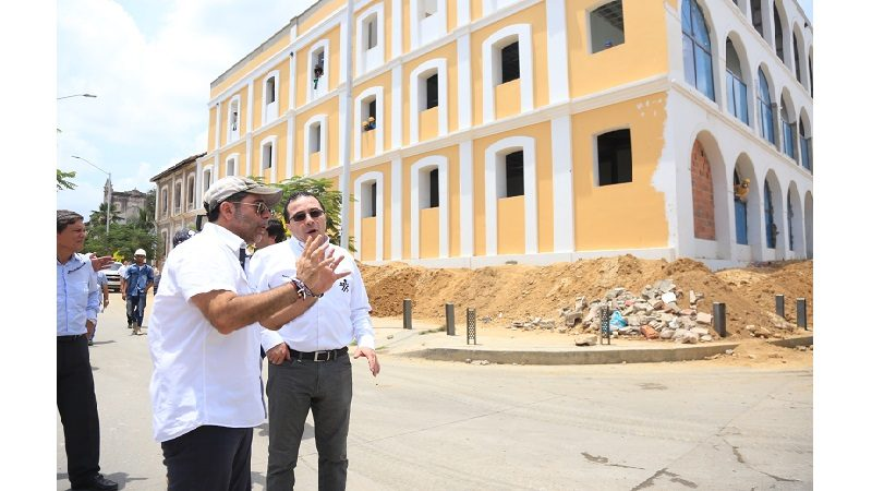 Sedes del SENA en Barranquilla registran avances significativos ok