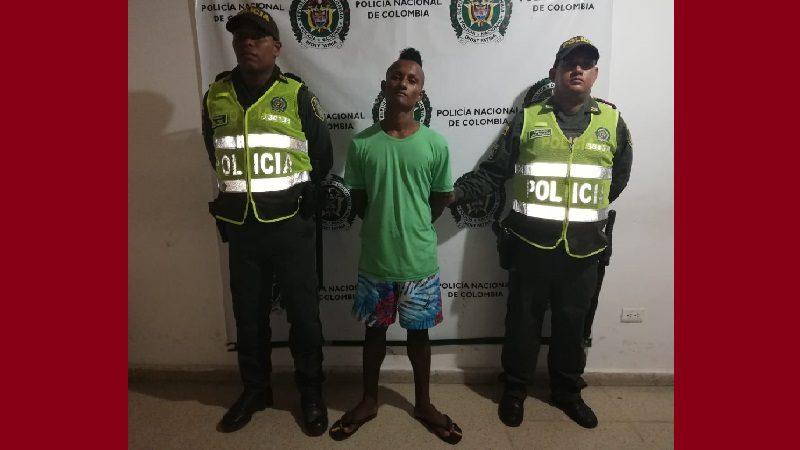 Tenía detención domiciliaria y andaba por las calles de Luruaco, Atlántico