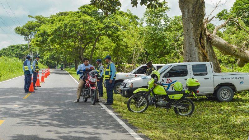 Tránsito del Atlántico lanza campaña de seguridad vial de fin de año