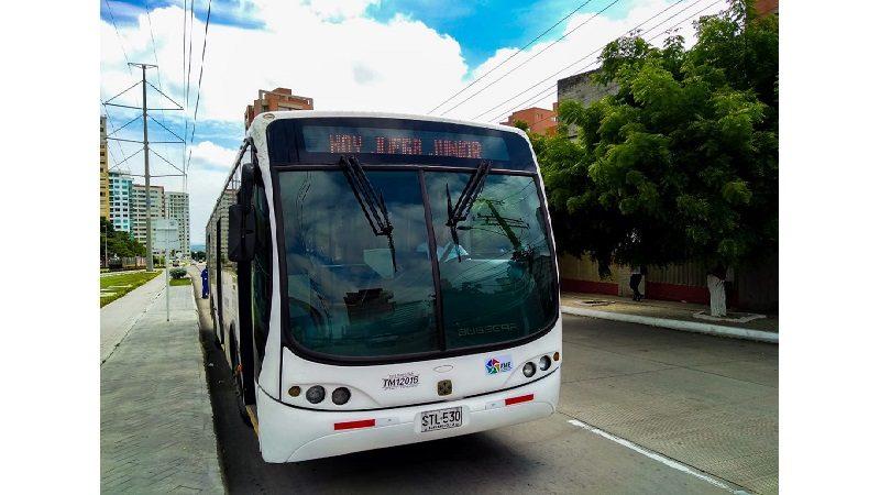 Transmetro programa 4 buses adiconales al finalizar partido Junior - Tolima