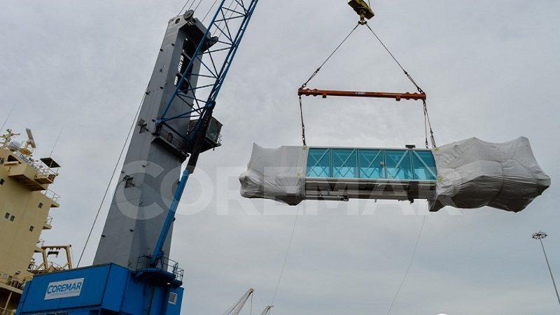 alermo Sociedad Portuaria, recibe las 5 Puentes para el nuevo Aeropuerto Internacional de Barranquilla