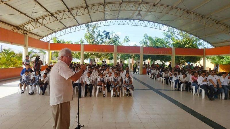 Alcalde invita al Procurador a conocer directamente avances en calidad educativa de Soledad