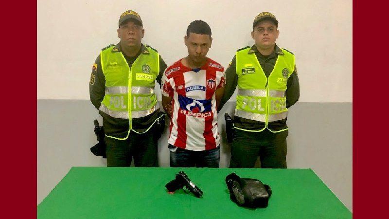 Alias 'El menor' tenía detención domiciliaria y asaltó un banco en Barranquilla