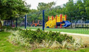 Así quedó el remodelado parque del barrio Los Almendros en el municipio de Soledad 2