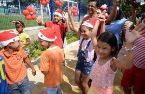 Así quedó el remodelado parque del barrio Los Almendros en el municipio de Soledad 3
