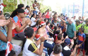 Así quedó el remodelado parque del barrio Los Almendros en el municipio de Soledad 6