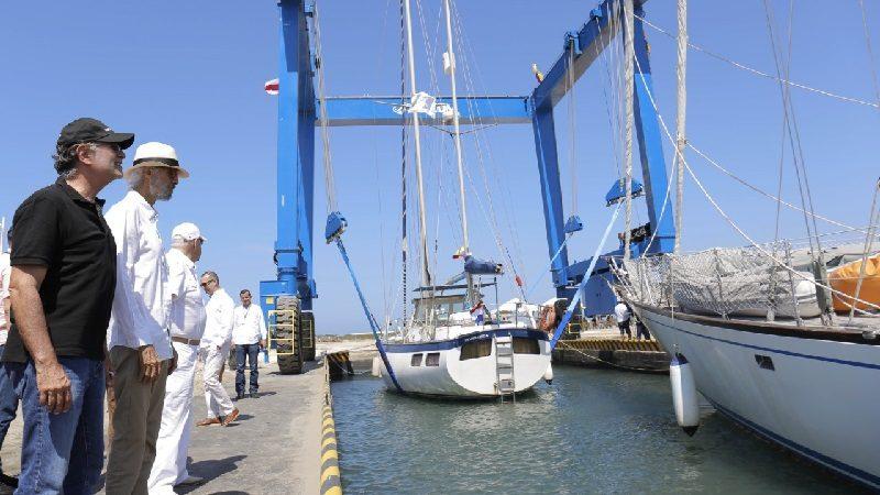 Atlántico ya cuenta con estación de mantenimiento de embarcaciones en Puerto Velero