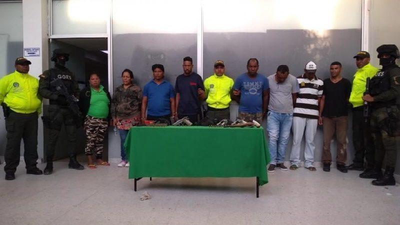 Cae banda 'Los Colonos' por robo de tierras y extorsiones en Barranquilla