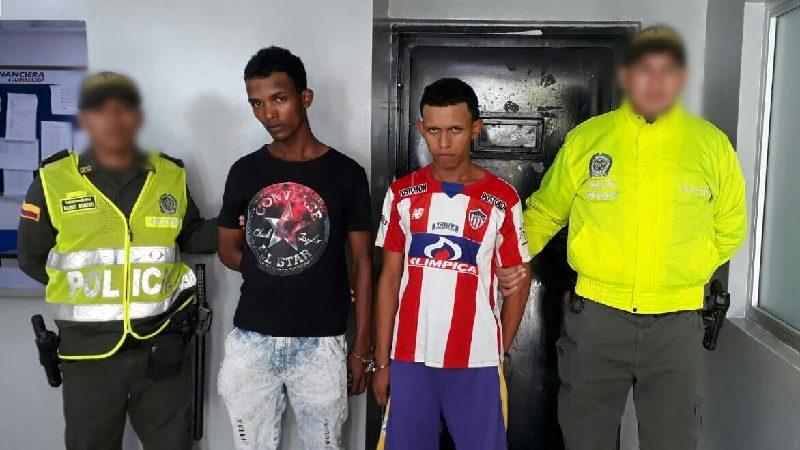 Capturan a dos jóvenes que habrían asesinado a su tío en el barrio Evaristo Sourdis