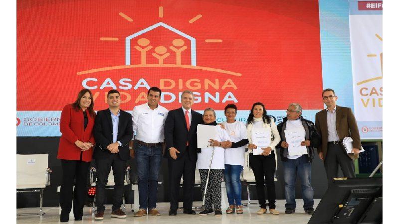 Casa Digna Vida Digna, nuevo programa de vivienda del Gobierno nacional