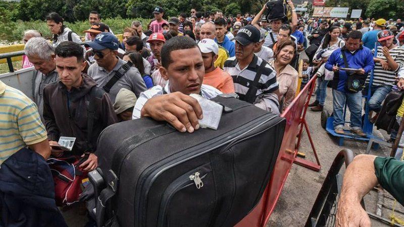 Cerca del 50% de los venezolanos que ha abandonado su país se encuentran en territorio colombiano
