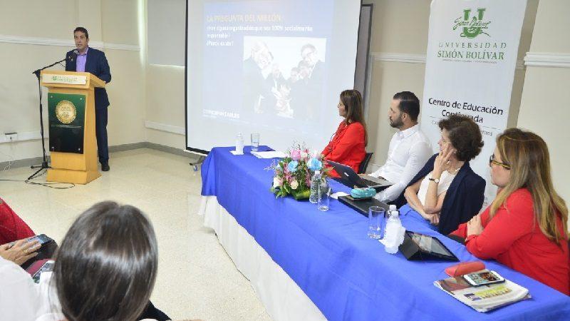 Comenzó 'Cátedra de Valor Compartido' en la universidad Simón Bolívar