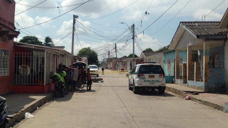 De tres tiros asesinan a mototaxista en el barrio Rebolo