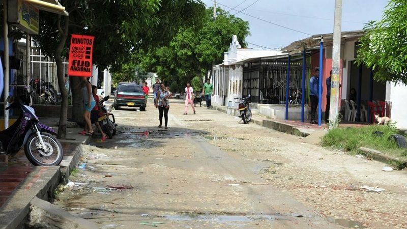 De un balazo en la cabeza asesinan a un hombre en el barrio Los Almendros de Soledad