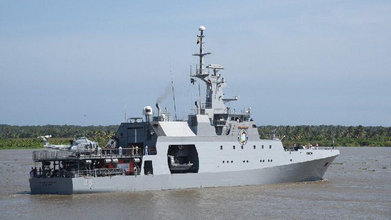 Desde el Gran Malecón del Río en Barranquilla zarpó expedición de la Armada a la Antártida