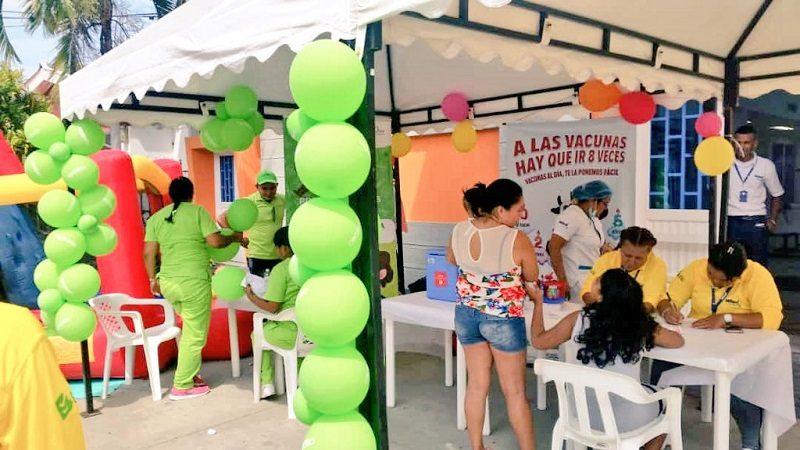 Distrito realizará jornada especial para vacunar a los niños contra el sarampión