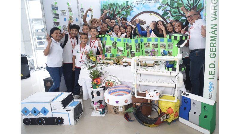 Dos colegios de Barranquilla y Sabanalarga, ganadores de 'Mi Colegio Limpio 2018', concurso de Triple A