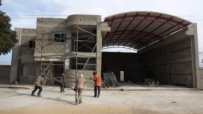 En 80 % avanzan obras de Estación de Bomberos de Galapa
