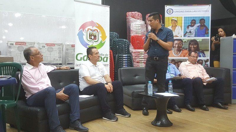En Galapa, Unidad para las Víctimas entregó dotación mobiliaria a comunidad educativa de Villa olímpica