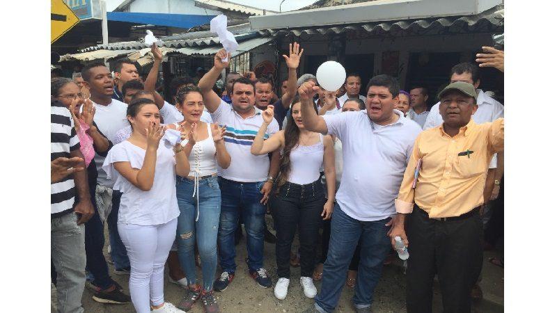 En Luruaco, comerciantes se declararon en paro cívico por asesinato de tendero