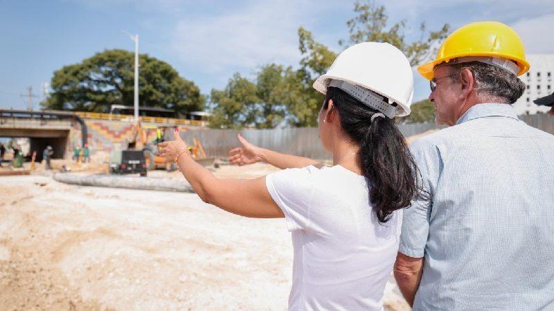 En dos semanas inician trabajos estructurales de la ampliación de la Plaza de la Paz