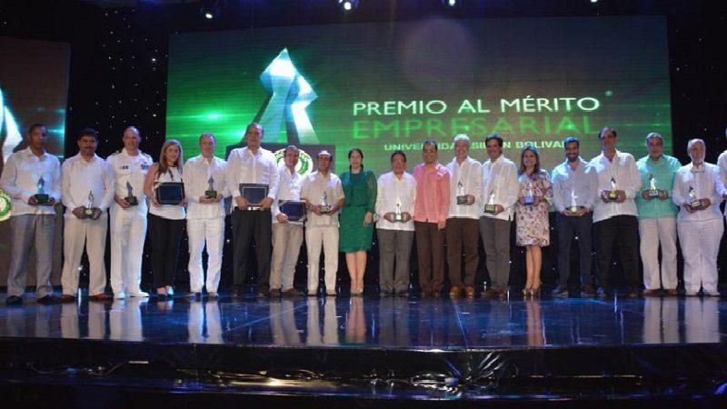 Este jueves 15 de noviembre, ceremonia de premiación 'Merito Empresarial' de la universidad Simón Bolívar
