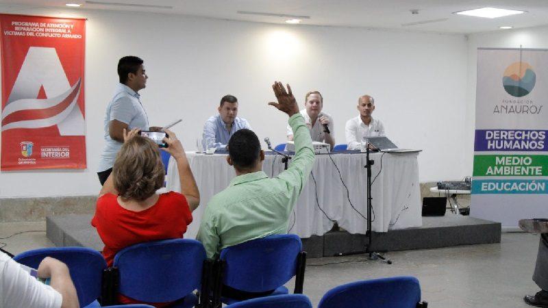 Gobernación socializó con municipios el Pacto Departamental por los Derechos Humanos
