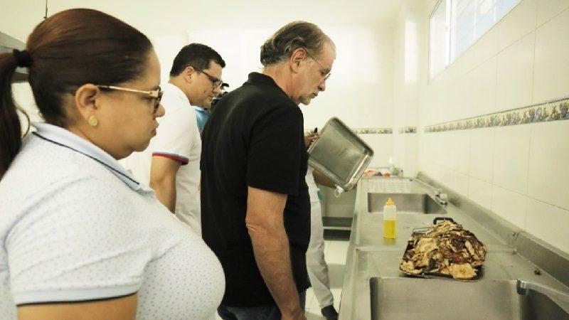 Gobernador pidió investigación sobre servicio de alimentación en el hospital Cari Mental