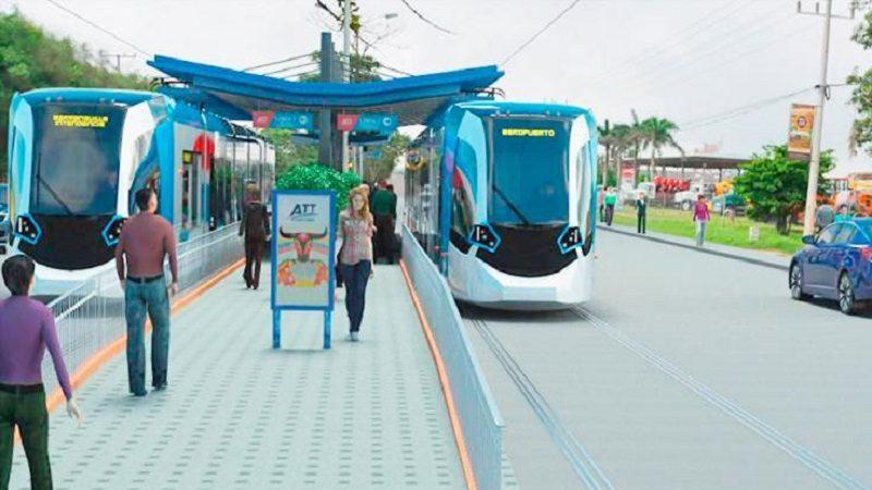 Gobierno da visto bueno a modelo financiero de tren ligero para Barranquilla