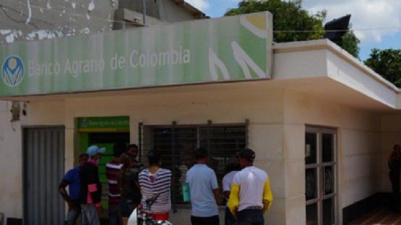 Hombres armados cometen 'taquillazo' en banco Agrario del municipio de Candelaria