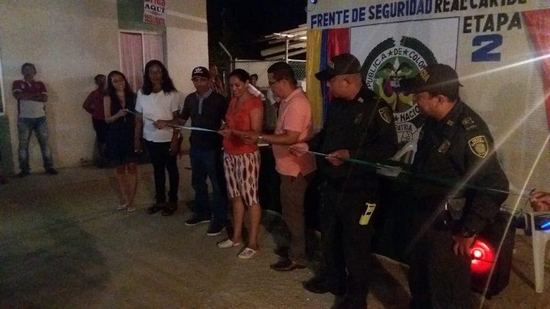 Inauguran frente de seguridad en la Ciudadela Real del Caribe, en Malambo