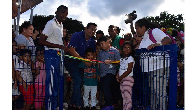 Inauguran moderno parque Isolina Majul en el municipio de Malambo