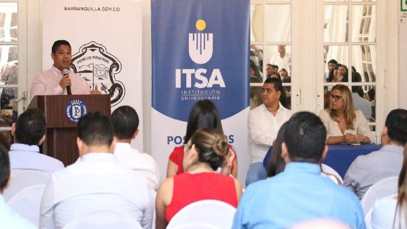 Institución Universitaria Distrital ITSA lanza sus primeros posgrados profesionales