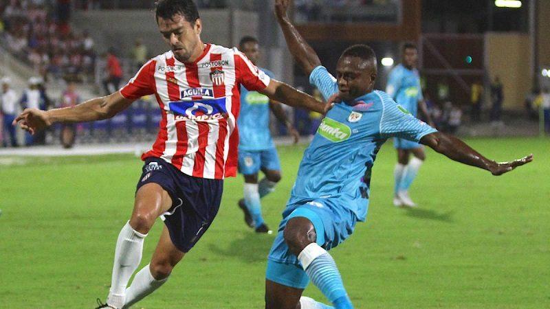 Junior cayó 2-1 ante Jaguares, en el Romelio Martínez