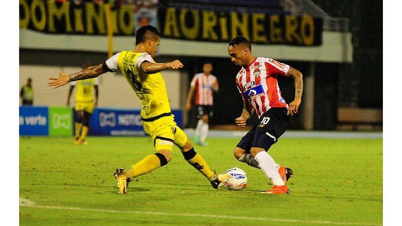 Junior goleó 0-3 a Alianza Petrolera y clasificó a cuartos de final de la Liga